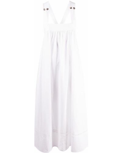 Biała sukienka bez rękawów Ciao Lucia