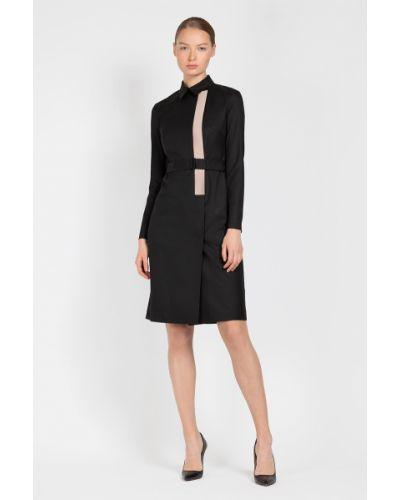 Платье из вискозы приталенное Vassa&co