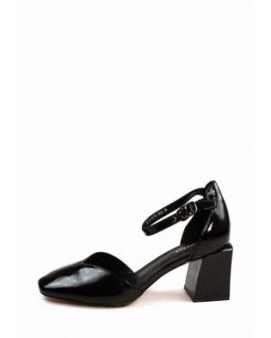 Кожаные туфли - черные Visttaly