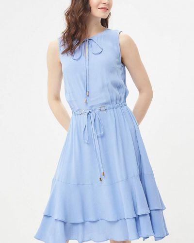Голубое платье весеннее Lusio
