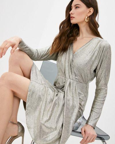 Вечернее платье золотое Lauren Ralph Lauren