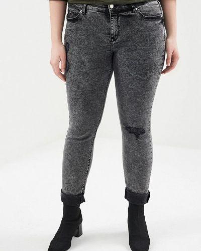 Серые джинсы Violeta By Mango