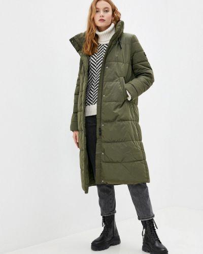 Утепленная зеленая куртка Gerry Weber