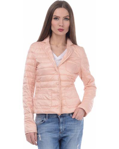 Розовая куртка Trussardi Jeans