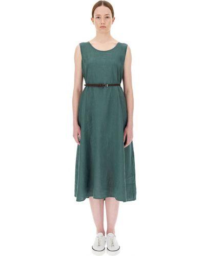 Зеленое платье Maxmara