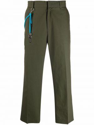 Zielone spodnie bawełniane Viktor & Rolf