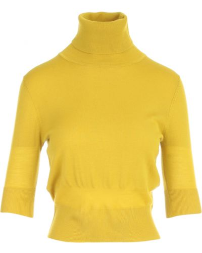Żółty sweter Aspesi