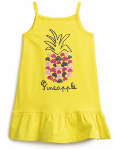 Летнее платье хлопковое с принтом Playtoday Baby