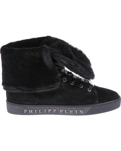 Ботинки на платформе осенние Philipp Plein