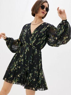 Черное платье с запахом Ted Baker London