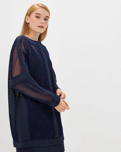 Юбочный костюм синий Glam Goddess