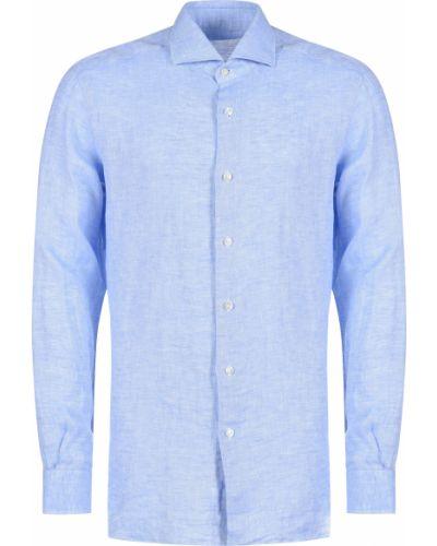 Рубашка - голубая Barba Napoli
