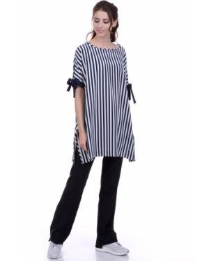 Блузка в полоску в стиле бохо Lautus