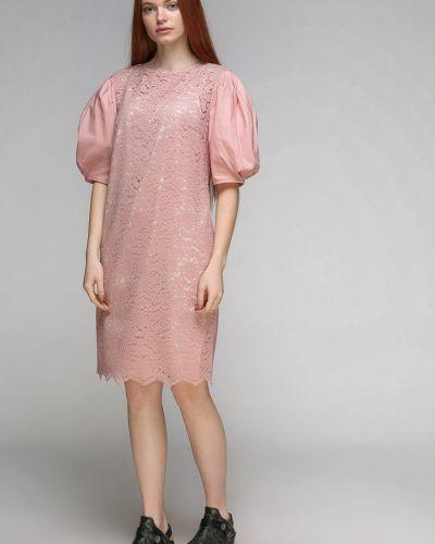 Прямое ажурное нарядное платье Dolcedonna