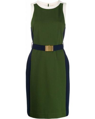 Платье миди с поясом прямое Tory Burch