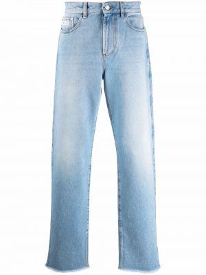 Niebieskie jeansy z paskiem Gcds
