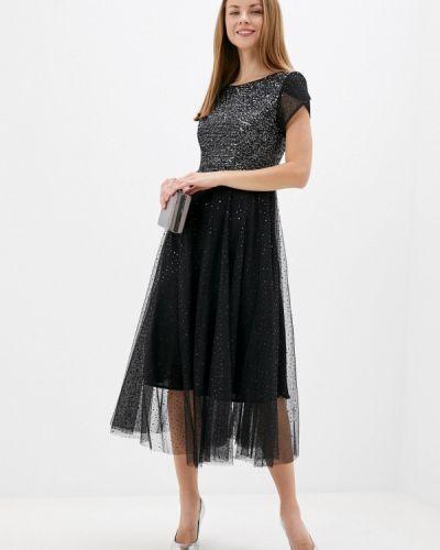 Вечернее черное вечернее платье Mankato