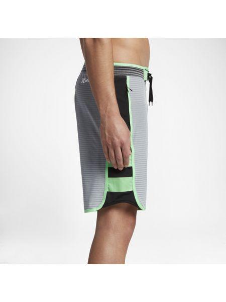 Szare boardshorty Nike