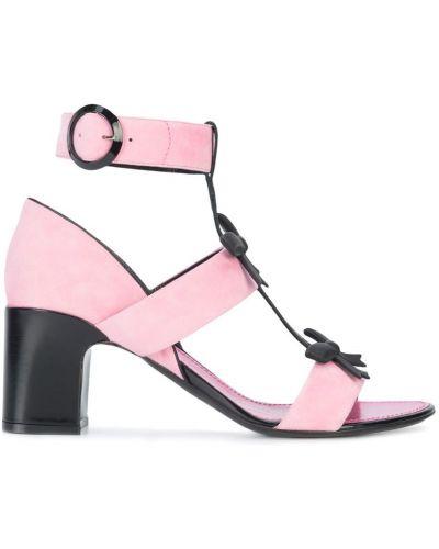 Розовые босоножки Fabrizio Viti