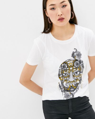 Белая футболка с короткими рукавами Custo Barcelona