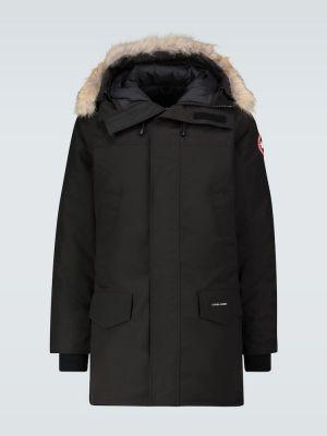 Куртка с капюшоном - черная Canada Goose