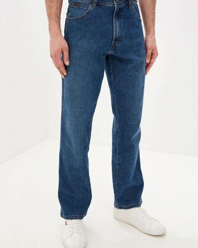 Прямые джинсы синий Wrangler