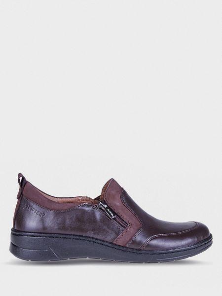 Кожаные полуботинки - черные Stepter