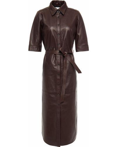 Кожаное платье Frame