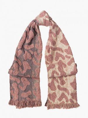 Коричневый шарф осенний Labbra