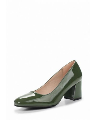 Зеленые кожаные туфли Rio Fiore