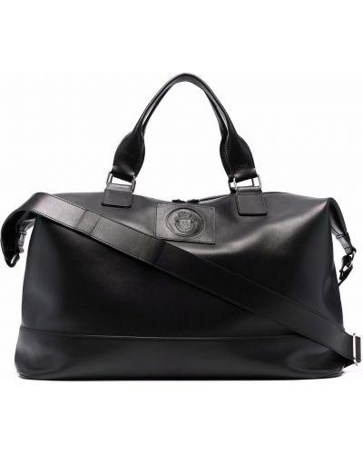 Черная сумка с тиснением Billionaire
