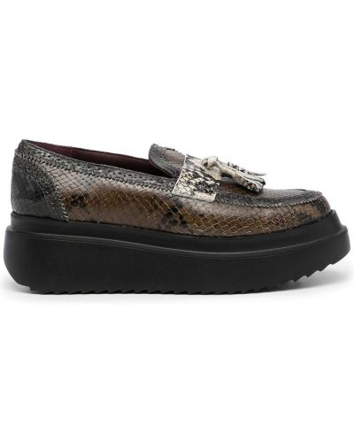 Коричневые туфли на каблуке Antonio Marras