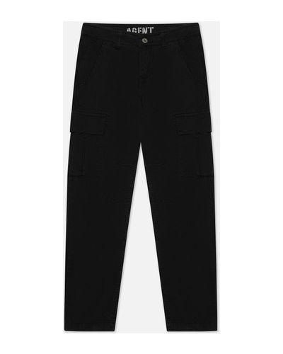 Хлопковые прямые брюки карго с поясом Alpha Industries