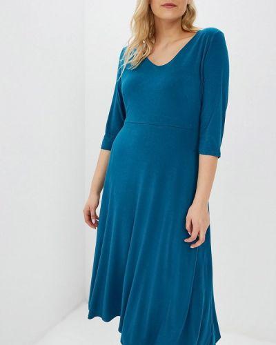 Повседневное платье весеннее бирюзовый Svesta