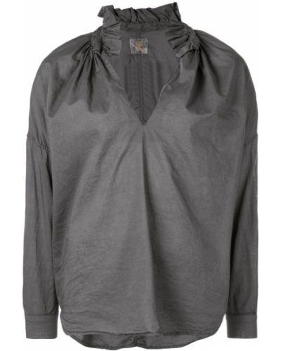 Шорты с оборками на пуговицах с воротником A Shirt Thing