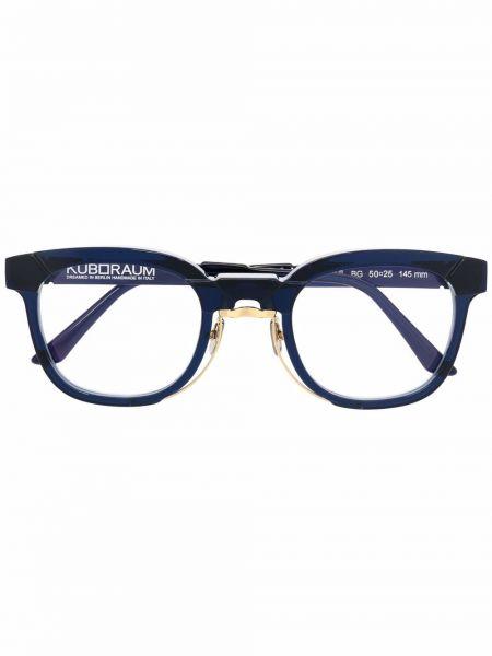 Оправа для очков прозрачные - синие Kuboraum