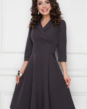 Платье с поясом с запахом платье-сарафан Bellovera