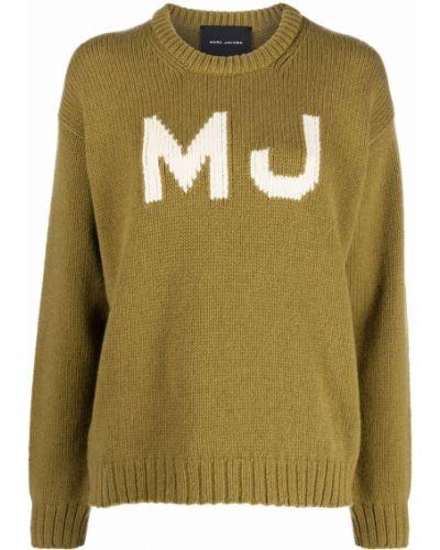 Шерстяной джемпер - зеленый Marc Jacobs