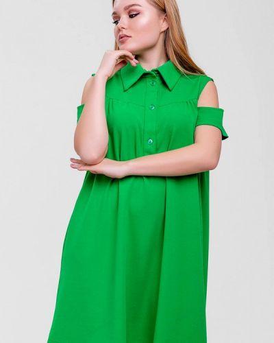 Платье - зеленое Sfn