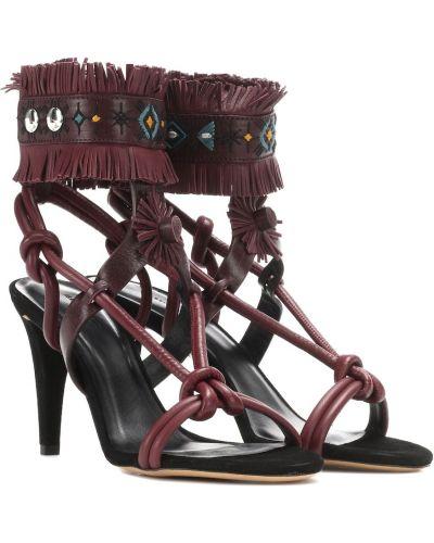 Фиолетовые сандалии Isabel Marant