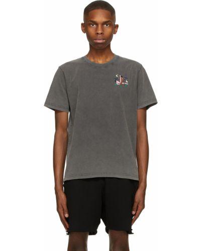 Czarny t-shirt krótki rękaw bawełniany Carne Bollente