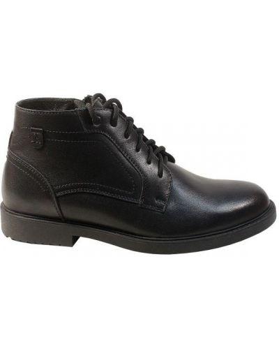 Кожаные ботинки - черные Tonkelli