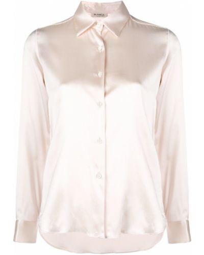 Рубашка с длинным рукавом белая классическая Blanca