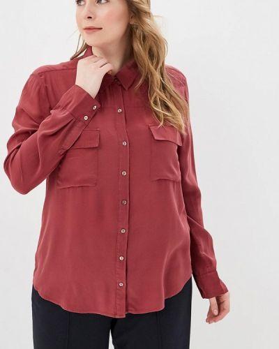 Блузка с длинным рукавом бордовый красная Sack's