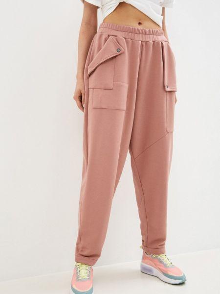 Спортивные розовые спортивные брюки Malaeva