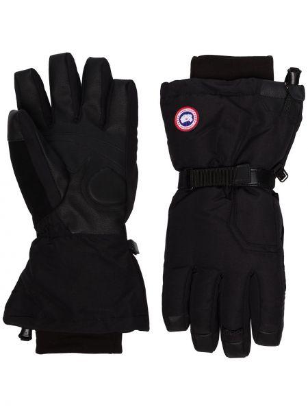 Rękawiczki czarny zimowy Canada Goose