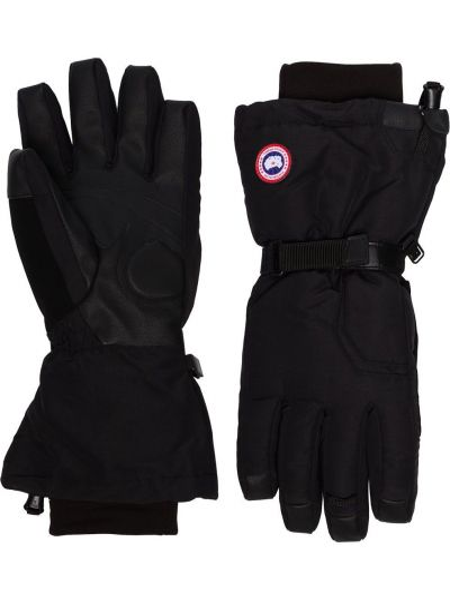Rękawiczki z nylonu - czarne Canada Goose