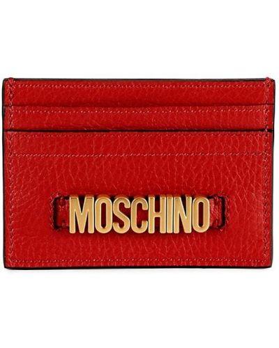 Кожаная ключница Moschino