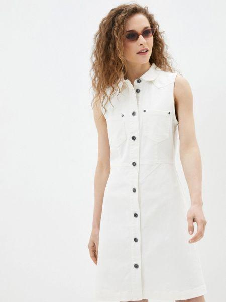Белое джинсовое платье Blendshe