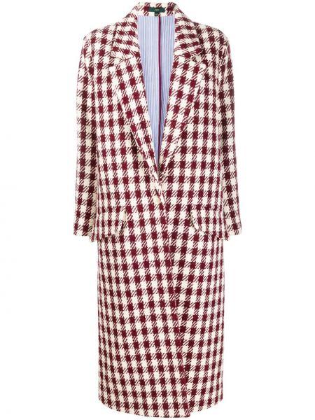 Długi płaszcz wełniany z kieszeniami Jejia